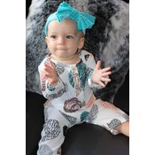 Lincoln&Lexi The Dottie Romper