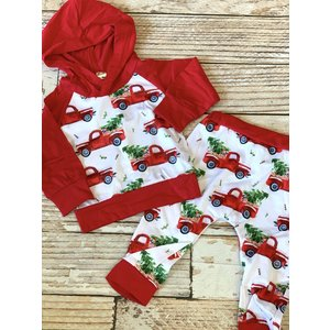 Lincoln&Lexi Christmas Puppy Sweatsuit