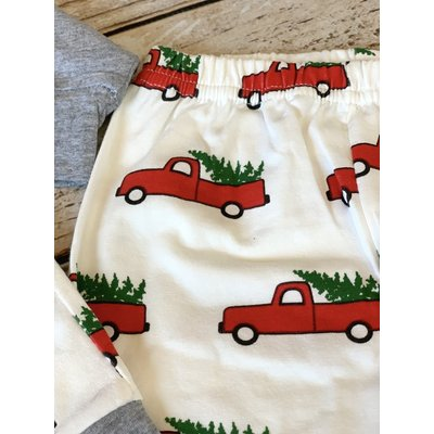 Lincoln&Lexi Christmas Truck Sweatsuit