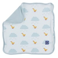 Kickee Pants Print Bamboo Lovey (Natural Puddle Duck - One Size)