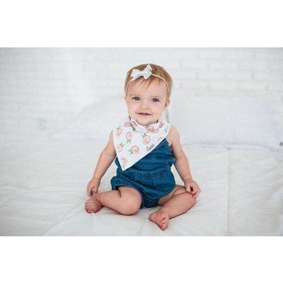 Copper Pearl baby bandana bibs - rosie