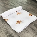 Three Little Anchors PRE-ORDER Iowa State Cyclone 100% Organic Swaddle Blanket