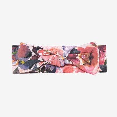 Posh Peanut Dusk Rose Swaddle Headband Set