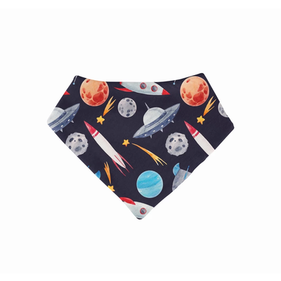 Posh Peanut Outer Space 4-Pack Bib Collection