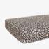 Posh Peanut Lana Leopard Tan Crib Sheet