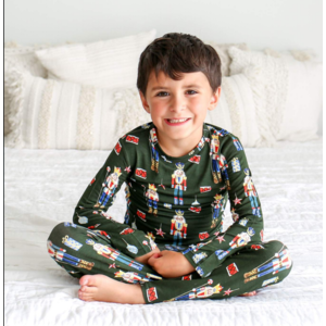 Posh Peanut Thomas Toy Soldier Pajamas