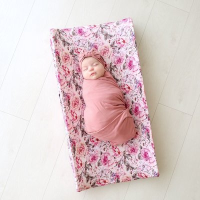 Posh Peanut Elise Floral - Crib Sheet