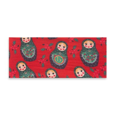 Baby Bling Printed Knot: nesting doll