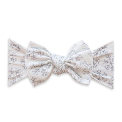 Baby Bling Printed Knot: ice queen