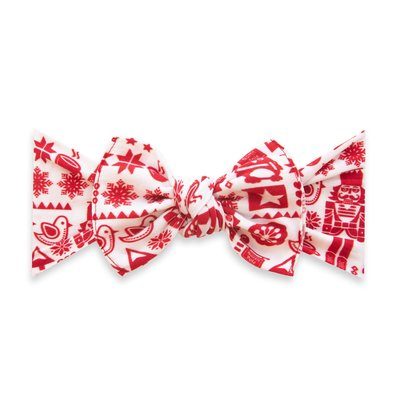 Baby Bling Printed Knot: nutcracker