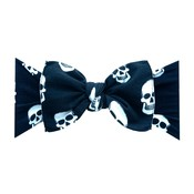 Baby Bling PRINTED KNOT: skelly