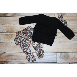 Lincoln&Lexi Little Cheetah 3 Piece Set