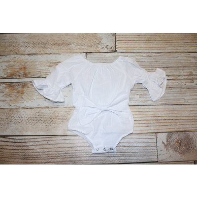 Lincoln&Lexi The Whitney Bow Romper