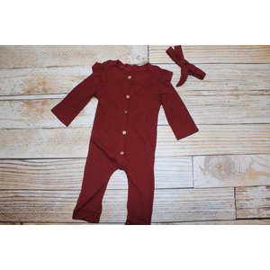 Lincoln&Lexi The Scarlette Romper & Headband Set