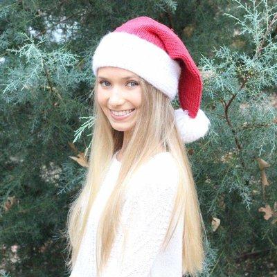 Hug-g-alugs Santa Beanie Hat