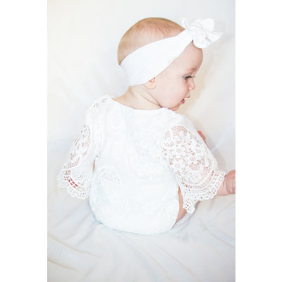 Lincoln&Lexi The Luca Lace Romper