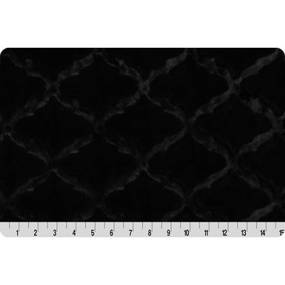 Lincoln&Lexi Luxe Cuddle® Lattice Black