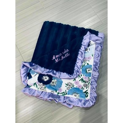 Luxe Cuddle® Chinchilla Navy