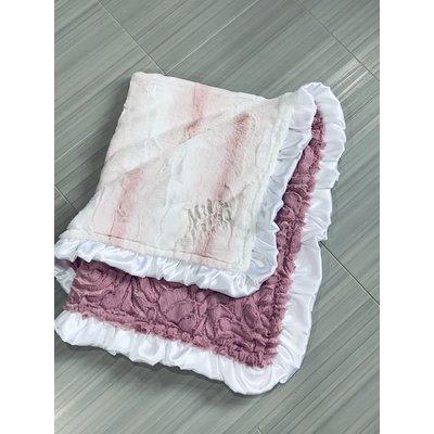 Luxe Cuddle® Angora Rosewater