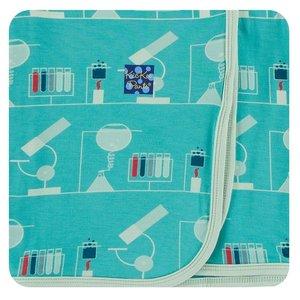 Kickee Pants Print Swaddling Blanket (Neptune Chemistry Lab - One Size)