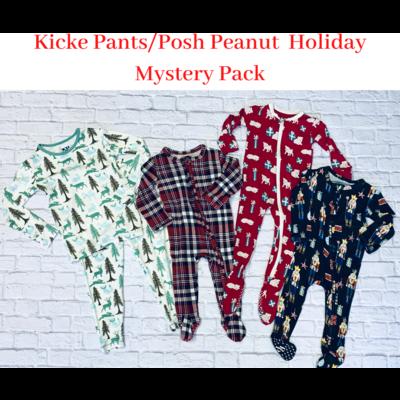 0-3M Kickee Pants/Posh Peanut Mystery Pack