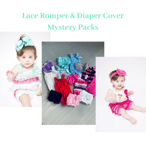 Lincoln&Lexi NB-6M Lace Romper Mystery Pack