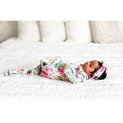 Posh Peanut Jolie - Basic Knotted Gown 0-3M