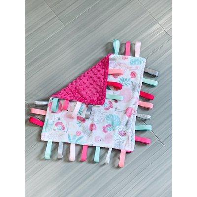 Lincoln&Lexi Flamingle Cuddle® Blush
