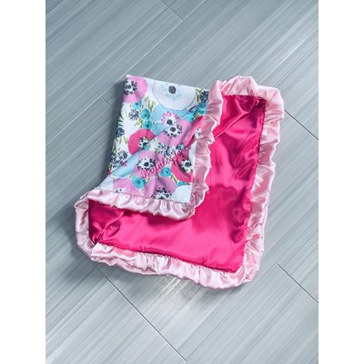 Silky Satin Solid Pink