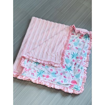 Lincoln&Lexi Silky Satin Solid Pink