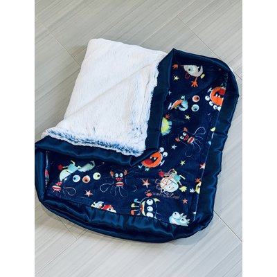 Lincoln&Lexi Luxe Cuddle® Frost Bluebell
