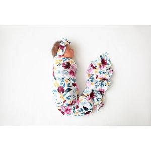 Posh Peanut Jozie - Infant Swaddle and Headwrap set