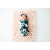 Posh Peanut Payton Swaddle Headband Set