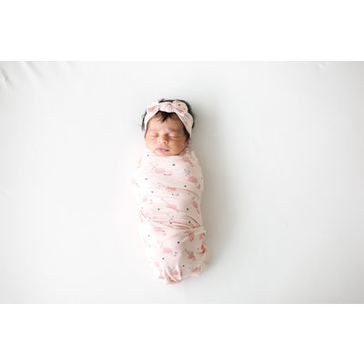 Posh Peanut Frida - Infant Swaddle and Headwrap Set