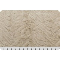 Lincoln&Lexi Luxe Cuddle® Frosted Zebra Camel