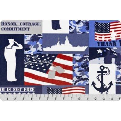 Lincoln&Lexi Sailor Digital Cuddle® Navy