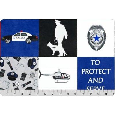 Police Digital Cuddle® Blue Line