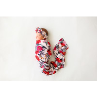 Posh Peanut Chloe - Infant Swaddle and Headwrap Set
