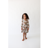 Posh Peanut Leona - Long Sleeve Henley Twirl Dress