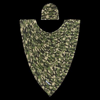 Posh Peanut Cadet - Infant Swaddle and Headwrap Set