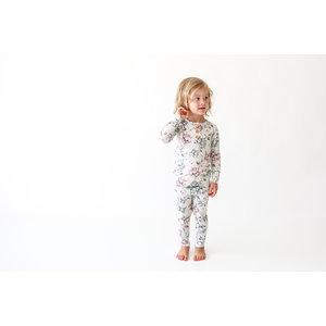 Posh Peanut Daniella  Long Sleeve Henley Loungewear