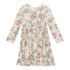 Posh Peanut Daniella - Long Sleeve Henley Twirl Dress