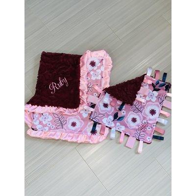 Luxe Cuddle® Demi Rose Merlot