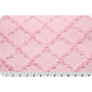 Lincoln&Lexi Luxe Cuddle® Lattice Baby Pink