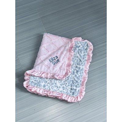 Luxe Cuddle® Lattice Baby Pink