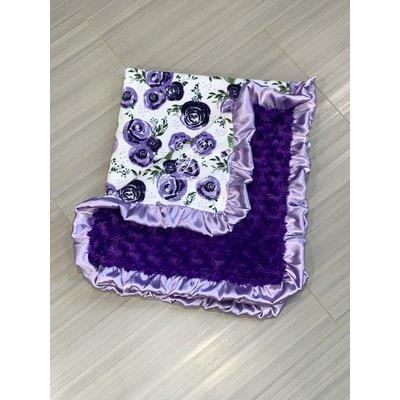 Lincoln&Lexi Purple Rosebud