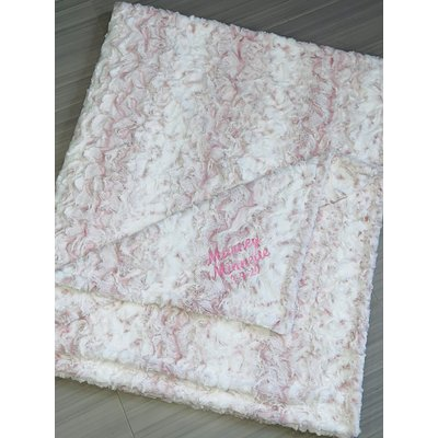 Luxe Cuddle® Snowy Owl Rosewater