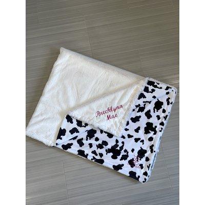 Lincoln&Lexi Cow Cuddle® Black/White