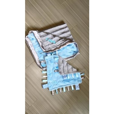 Luxe Cuddle® Hide Baby Blue