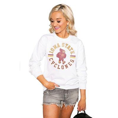 "Gameday Couture IOWA STATE CYCLONES ""VINTAGE DAYS"" Perfect Crew Sweatshirt"